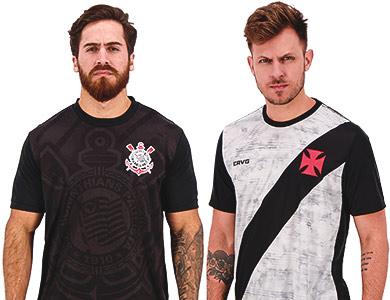 Essa é pra quem curte futebol e quer um bom produto sem gastar pouco. Temos Camisas de Clubes casuais com preços a partir de R$ 79,90. São modelos dos principais clubes do Brasil e do Mundo. Aproveite agora mesmo e compre aqui na Fut!